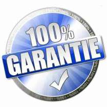 100% Garantie Button